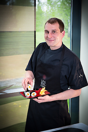 Linsberg Asia Küchenchef Michael Suttner gibt Tipps, wie Maki garantiert gelingt