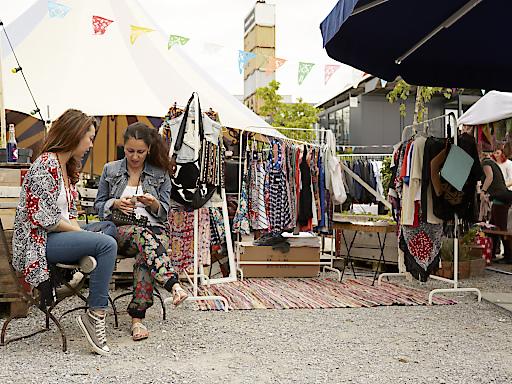 Gerolds Markt im angesagten Quartier, Zürich