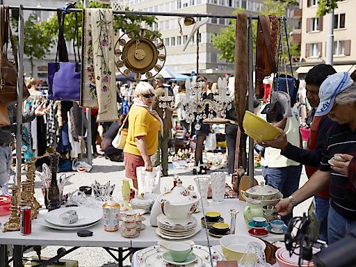 Kanzleiflohmarkt am Helvetiaplatz, Zürich