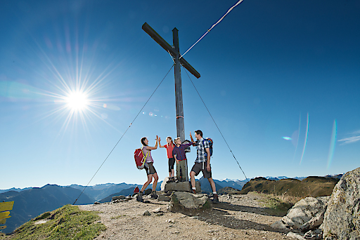 Gipfelsturm am Grießenkareck
