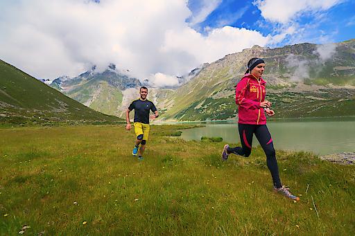 120 km spezielle Trail Running-Strecken im Pitztal