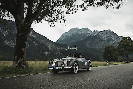Auf der Strecke der Schlösser- und Seen-Runde, Schloss Neuschwanstein