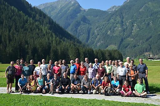 Rund 60 WissenschaftlerInnen nahmen am 9. Tag<br /> der Artenvielfalt im Untersulzbachtal teil.
