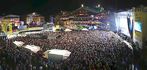 Tausende Fans werden den WM-Park Planai in eine Tanzfläche verwandeln.