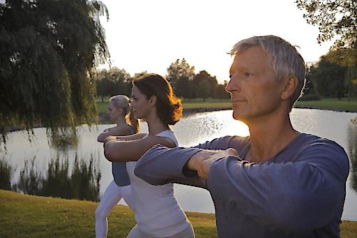 Im Freien geht's am besten: Wyda, das europäische Yoga, exklusiv bei den Marienschwestern in OÖ
