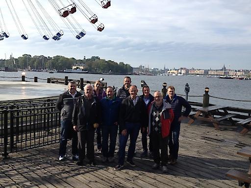 Gruppenbild conos Trendexpedition Stockholm