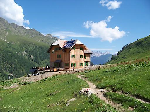 Hochweißsteinhaus - ausgezeichnet mit dem Umweltgütesiegel der Alpenvereine