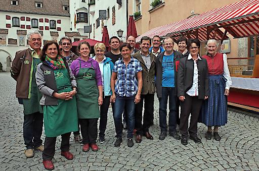 Haller Bauernmarkt feiert gemeinsam mit Franz Posch das Bauernmarktjubiläum