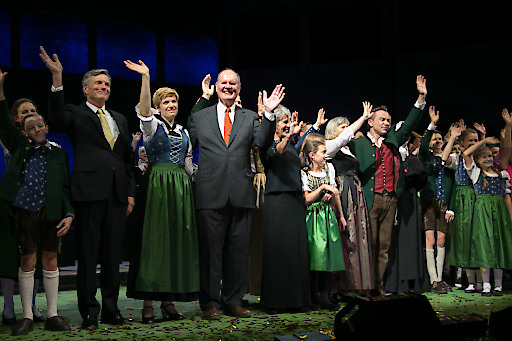 """Gala """"The Sound of Music"""" zum 50 jährigen Jubiläum in der Felsenreitschule Salzburg.Foto: Franz Neumayr 17.10.2015"""