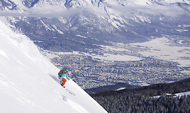Bild zu Freeride City Innsbruck: City-Feeling meets Powder-Spots