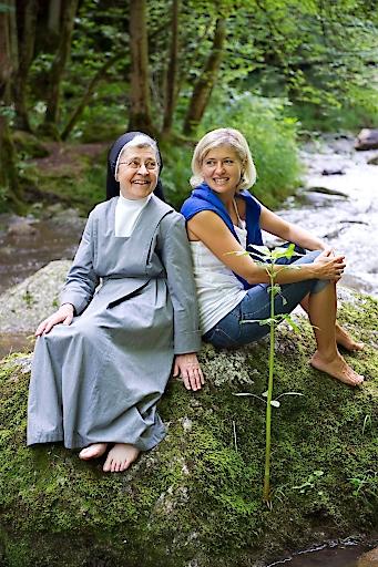 Wanderung mit Schwester Gabriele im wildromantischen Pesenbachtal