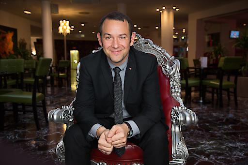 Philipp Pratl, General Manager ARCOTEL Kaiserwasser Wien