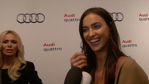Model und Schauspielerin Irina Shayk in Kitzbühel