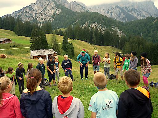 """""""Freunde Treffen"""": Beim Sommerprogramm der Alpenvereinsjugend ist jede Menge Spaß garantiert."""