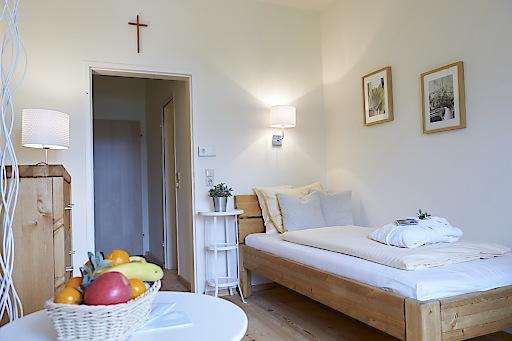 Renovierte Zimmer im Kurhaus Marienkron