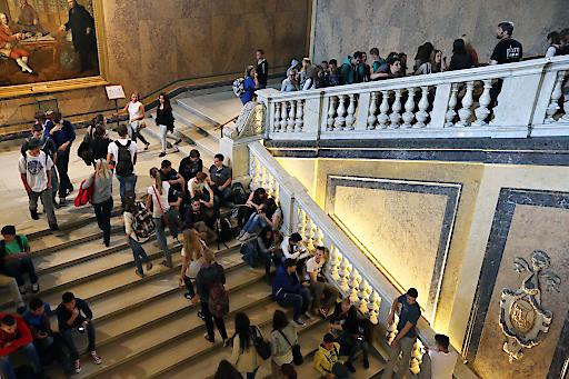 Großer Andrang herrschte beim 27. Welttag der Fremdenführer im Naturhistorischen Museum. Insgesamt kamen 6.500 Besucher - ein neuer Rekord.