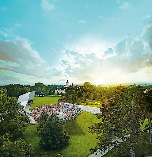 Wolkenturm und Schloss Grafenegg