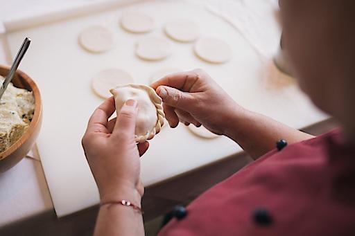 Kärntner Käsnudel gibt es im Slow Food Partner-Betrieb Gasthof Grünwald