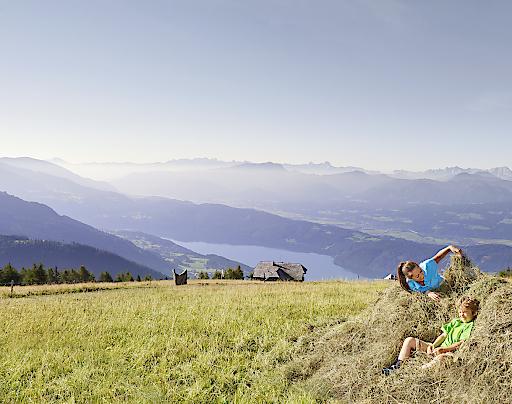 Wandern wie die Großen lautet das Motto bei der Drei-Hütten-Tour am Millstätter See Höhensteig.