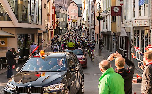 Bereits bei der ersten Auflage des Radmarathons durften sich die Veranstalter in der Ferienregion Imst über ein imposantes Teilnehmerfeld freuen.