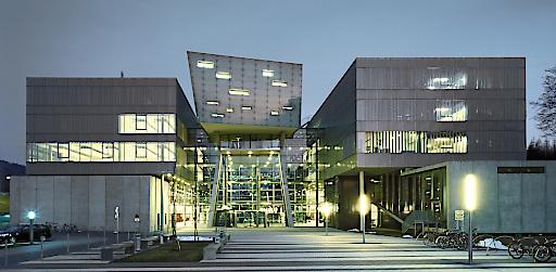 Die Fachhochschule Salzburg in Puch/Urstein als Schauplatz für den 12. Brennpunkt eTourism am 20. Oktober 2016.