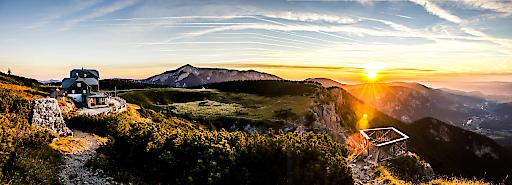 Auf einer 1 ½-tägigen Rax-Wanderung kann man sich in den Wiener Alpen geistige Freiräume schaffen und sich dabei mit der philosophischen Lehre Viktor Frankls beschäftigen.