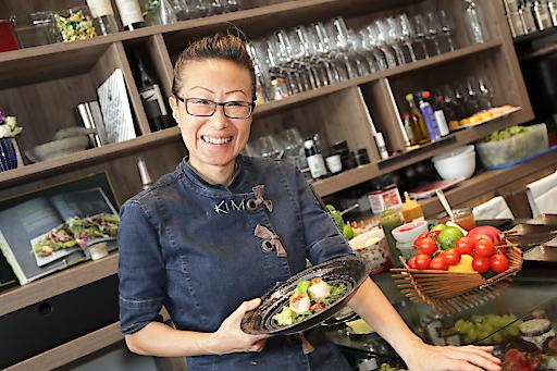 Die international bekannte koreanischen Köchin Sohyi Kim.