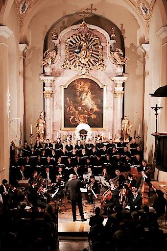 Der Arnold Schoenberg Chor ist seit jeher mit dem Festival Sankt Gallen eng verbunden.
