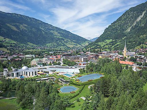 Projekt-Visualisierung Thermalwasser-Badeseen Alpentherme Gastein