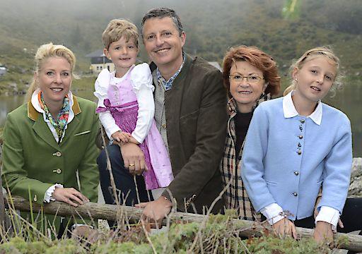 Drei Generationen der Familie Ronacher.