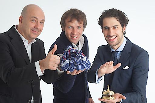 Luca Chiesa, Luca Miliffi, Johannes Ziganek
