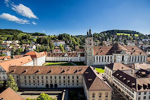 Stiftsbezirk St.Gallen UNESCO Weltkulturerbe
