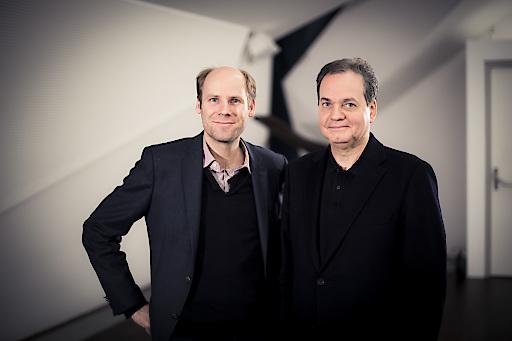 Christoph Ehrenfellner und Christian Altenburger