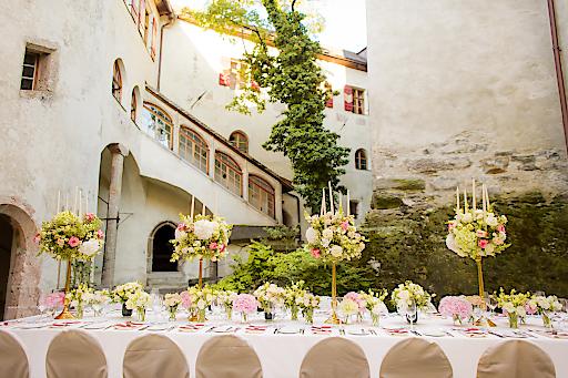 Heiraten auf Schloss Friedberg