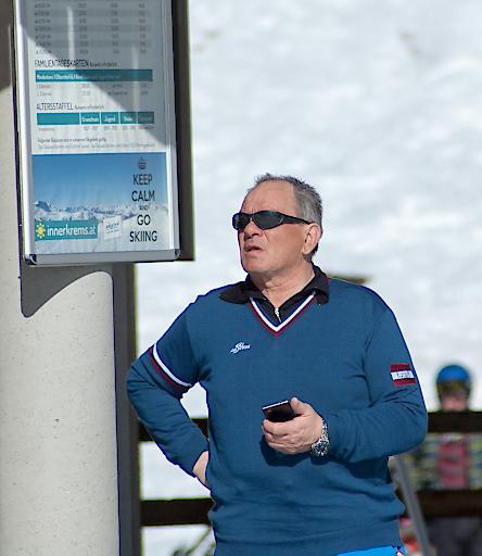 Geschäftsführer Heinz Kabusch der Innerkremser Seilbahnen blickt in deine positive Zukunft.