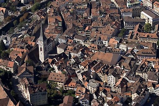 Altstadt Chur (von oben)