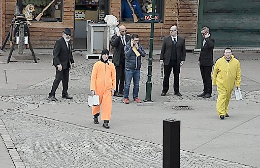 Geheimagenten mitten im Wiener Prater