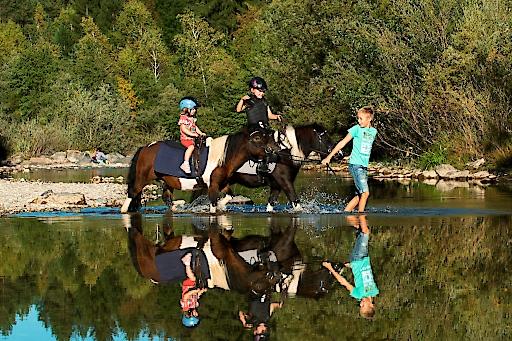 Die Reit-Eldorados sind Spezialisten für den Familienurlaub mit Pferden