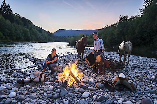 Die Reit-Eldorados bieten vielfältige Erlenisse rund ums Pferd