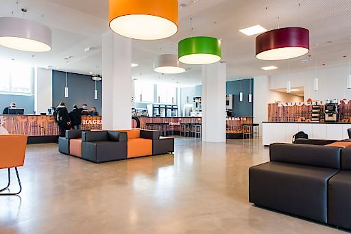 Im A&O Hotel and Hostel wurde erstmals das neue Designkonzept des Unternehmens angewandt.