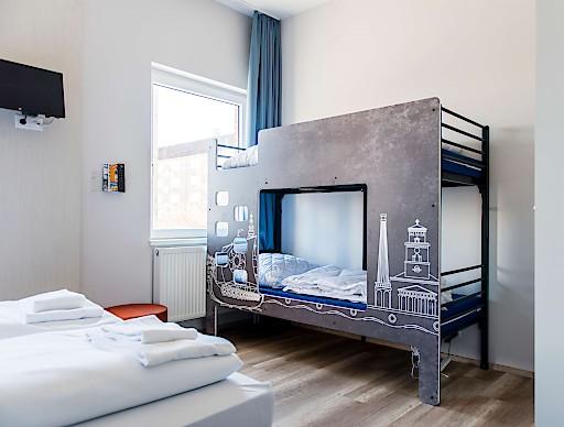 Die Privacy Boards, sind nur eines, der neuen Stil-Elemente im ersten Haus der A&O-Gruppe in Dänemark.