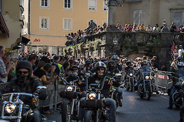 Bild zu Die 20. European Bike Week in Kärnten startet am 5. September