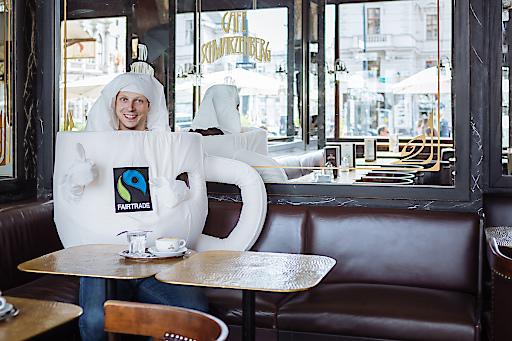 FAIRTRADE Kaffee Challenge im Café