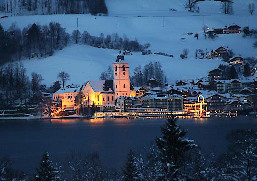 Adventstimmung im Hotel Im Weissen Rössl am Wolfgangsee