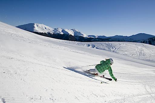 42 km weite breite Abfahrten laden auf der Turracher Höhe zum Skispaß ein