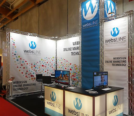 websLINE Messestand: Halle 2 / Nr.116