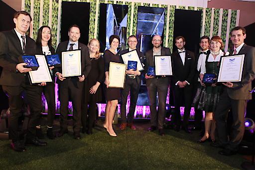 Die Gewinner des Sterne Awards erhalten Ausbildungspreis.