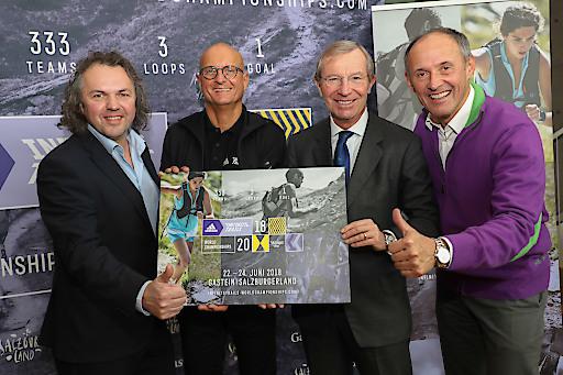 Globales Trailrunning Event von adidas steigt in Gastein