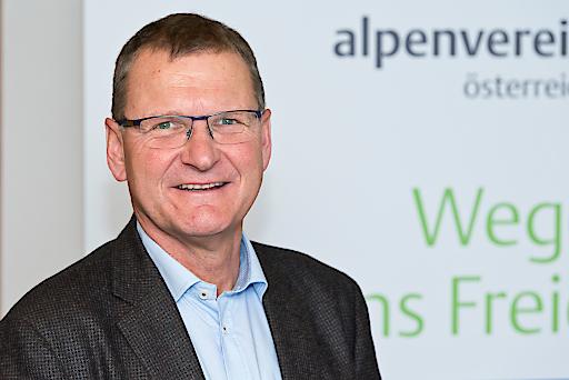 """""""Unser Ziel ist es, dass sich die 545.000 Mitglieder mit dem Verein und seinen Werten identifizieren und ihn aus Überzeugung unterstützen"""", sagt Alpenvereinspräsident Dr. Andreas Ermacora."""