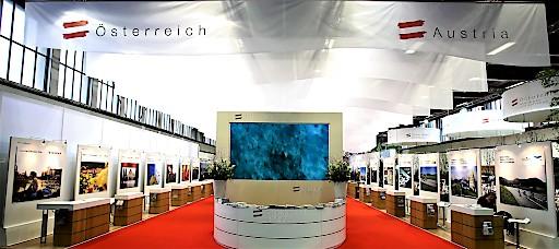 Österreich-Auftritt auf der ITB